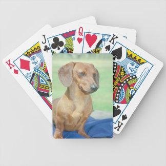 Dachshund Dog Playing Cards