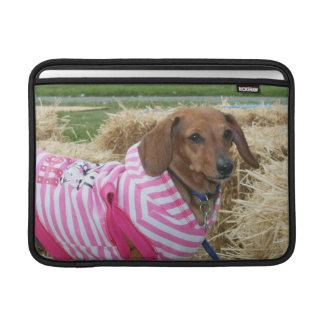 Dachshund dog sleeves for MacBook air