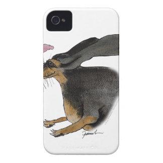 Dachshund dog, tony fernandes iPhone 4 cover
