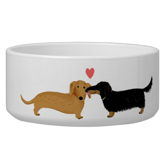Dachshund Doggie Kiss with Heart