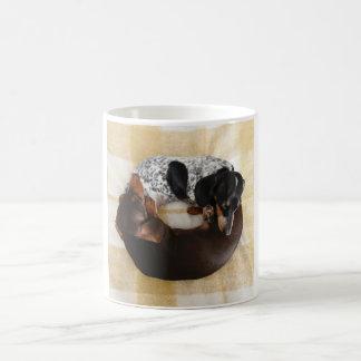 Dachshund Doughnut Coffee Mug