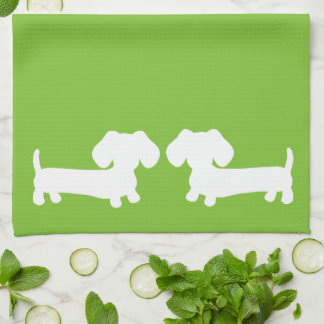 Dachshund Doxie Kitchen Towels