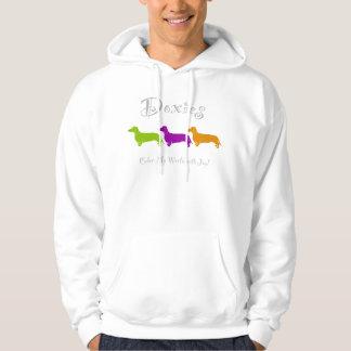 Dachshund - Doxie original artful designs Hooded Pullovers