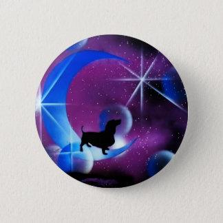 Dachshund Dreams 6 Cm Round Badge