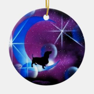 Dachshund Dreams Christmas Ornament
