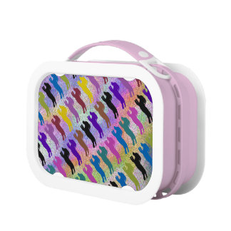 Dachshund Fly Ball Dogs Lunch Box