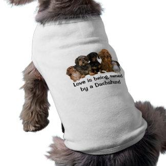 Dachshund Gang Pet Clothing