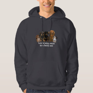 Dachshund Gang Unisex Hooded Sweatshirt