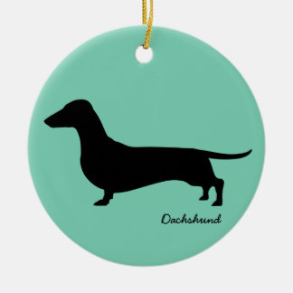 Dachshund Gifts Christmas Ornament