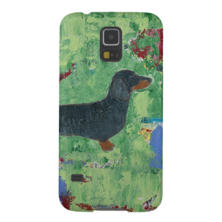 Dachshund Gifts Wiener Dog Modern Abstract Art Case For Galaxy S5