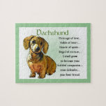 Dachshund Heritage of Love Puzzles