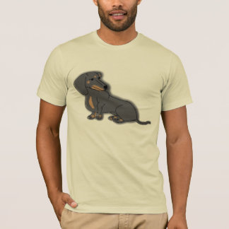 Dachshund in Color T-Shirt