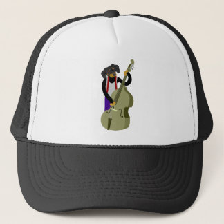 Dachshund Jazz Bass Player Trucker Hat