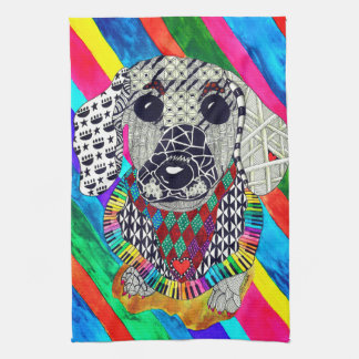 Dachshund Kitchen Towel (You can Customize)