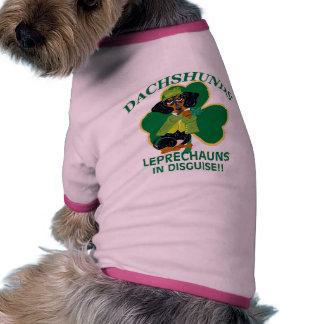 DACHSHUND LEPRECHAUN RINGER DOG SHIRT