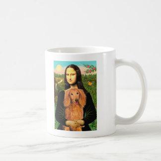 Dachshund (LHSable) - Mona Lisa Coffee Mugs