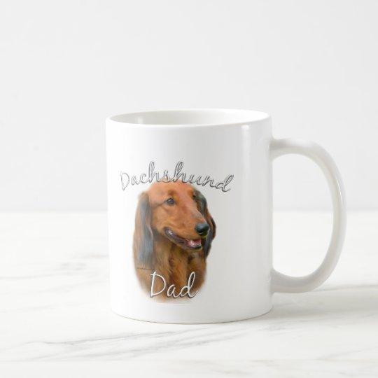 Dachshund (longhaired) Dad 2 Coffee Mug