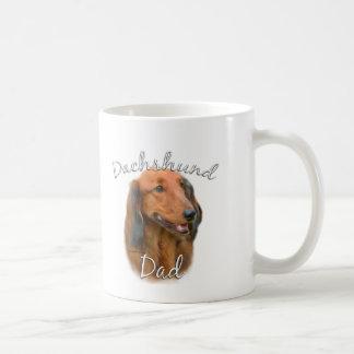 Dachshund (longhaired) Dad 2 Mug