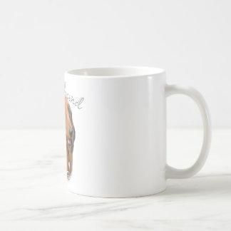 Dachshund (longhaired) Dad 2 Coffee Mugs