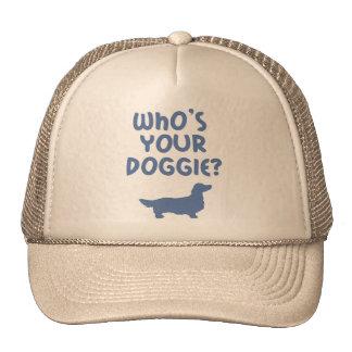 Dachshund Longhaired Mesh Hat