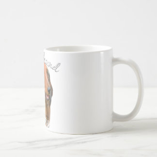 Dachshund (longhaired) Mom 2 Coffee Mug
