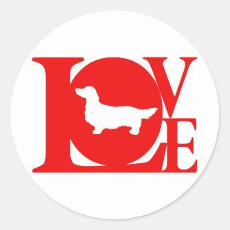 Dachshund Longhaired Sticker