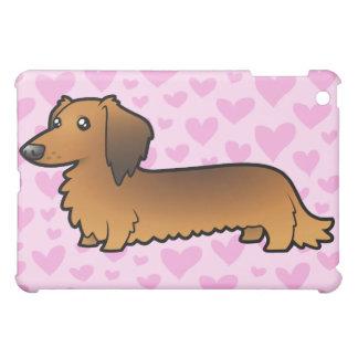 Dachshund Love (longhair) (add your pern!) iPad Mini Cover