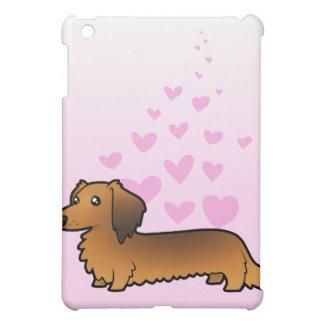 Dachshund Love (longhair) Cover For The iPad Mini