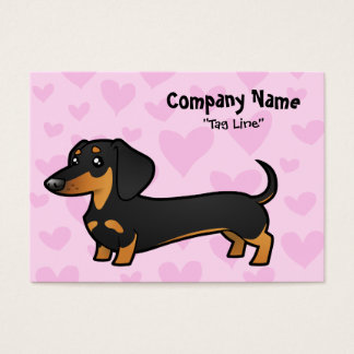 Dachshund Love (smooth coat) Business Card
