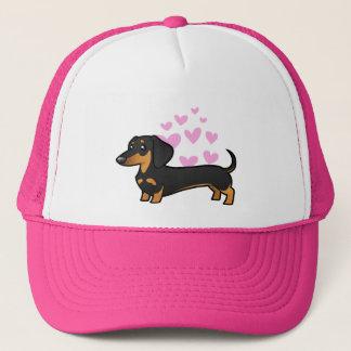 Dachshund Love (smooth coat) Trucker Hat