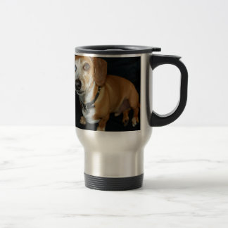 Dachshund Love Stainless Steel Travel Mug