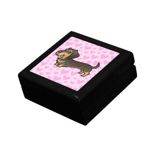 Dachshund Love (wirehair) Gift Box