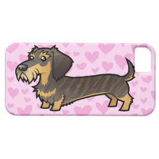 Dachshund Love (wirehair) iPhone 5 Case