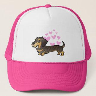 Dachshund Love (wirehair) Trucker Hat
