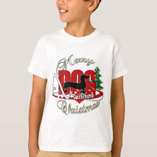 DACHSHUND MERRY CHRISTMAS T-Shirt