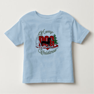 DACHSHUND MERRY CHRISTMAS TODDLER T-Shirt