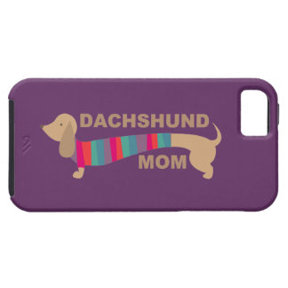 Dachshund Mom iPhone 5 Covers