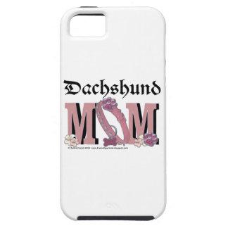 Dachshund MOM Tough iPhone 5 Case