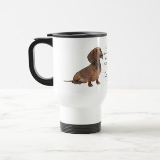 Dachshund Mom Travel Mug