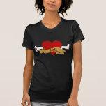 Dachshund Mum [Tattoo style] T-shirt