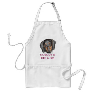 Dachshund  'Nobody Like Mom'  Apron