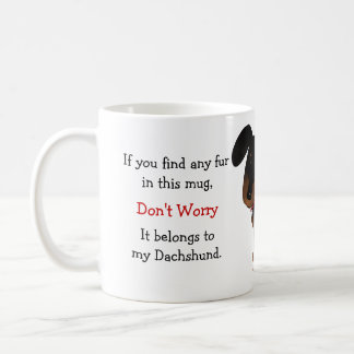 Dachshund Owner Humor Coffee Mug