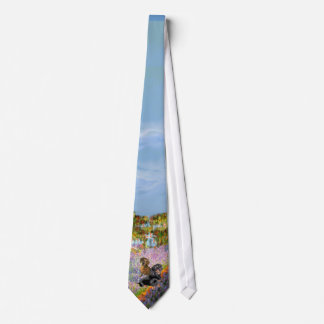 Dachshund Pair - Garden (Monet) Tie