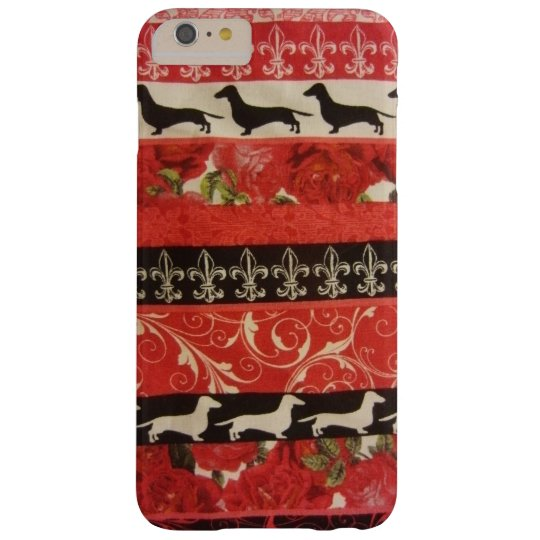 Dachshund Parade Barely There iPhone 6 Plus Case