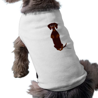 Dachshund Pet Sweater Sleeveless Dog Shirt