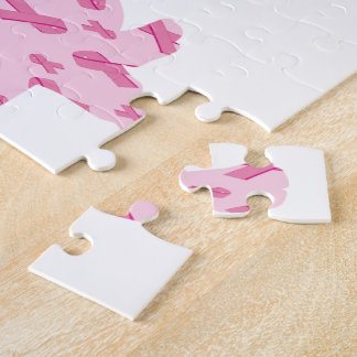 Dachshund Pink Ribbon for Cancer Puzzle
