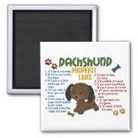 Dachshund Property Laws 4 Refrigerator Magnet