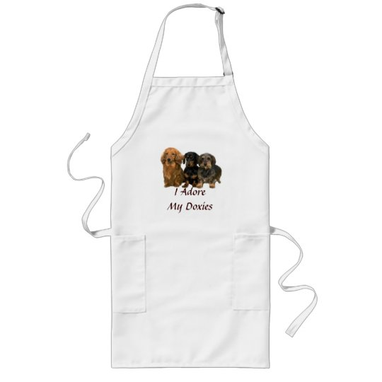 Dachshund Puppies Adore Apron