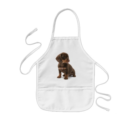 Dachshund Puppy Children's Apron