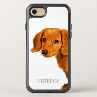 Dachshund puppy dog OtterBox symmetry iPhone 8/7 case